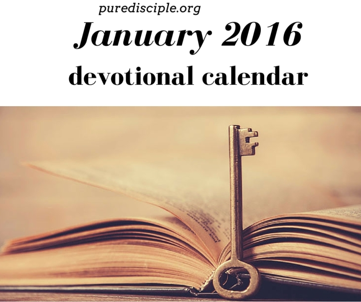 Renew me, Lord [Printable Devotion Calendar]