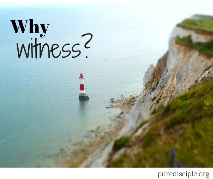 Why witness?