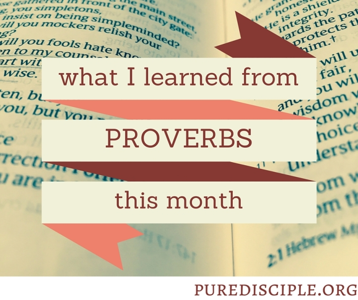 4 lessons I learned from PROVERBS [free shareables!]