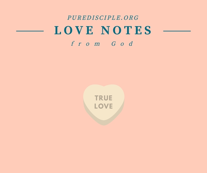 Love Notes Series: Love Leads to Peace