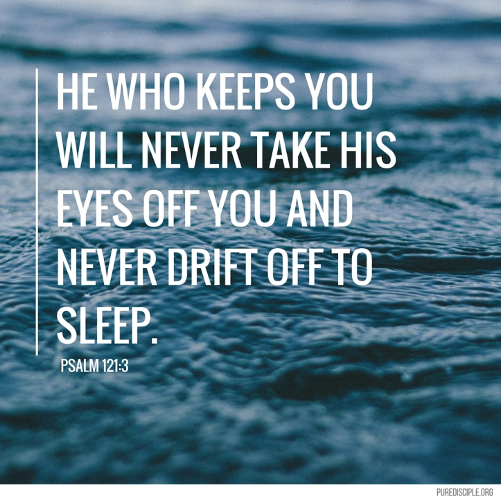 He who keeps you will never take His eyes off you and never drift off to sleep..jpg