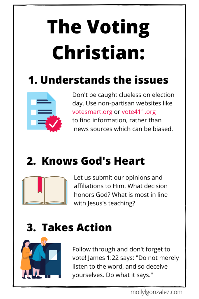 simple guide for christian voter